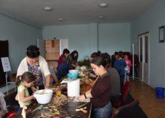 Kreatív kézműves szakkör márciusi foglalkozása